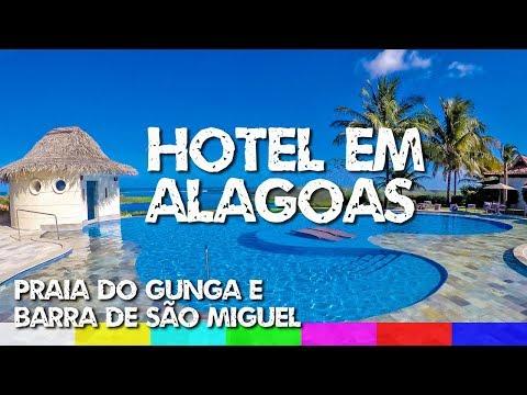 Gungaporanga: Hotel em Barra de São Miguel e Praia do Gunga - Alagoas
