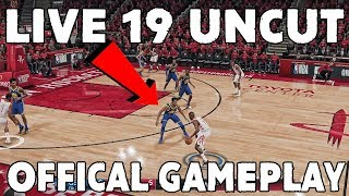 Nba Live 19 RAW UNCUT Gameplay!! Warriors Vs Rockets First Quarter!