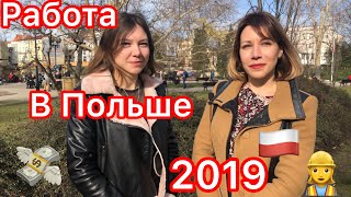 РАБОТА В ПОЛЬШЕ 2019. PRACA W POLSCE.