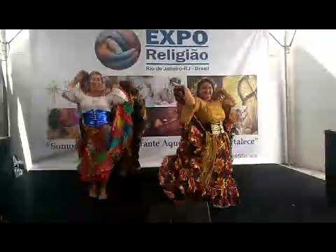 Apresentação de Márcial Leite e Seu grupo-Aconteceu na Expo Religião 2018