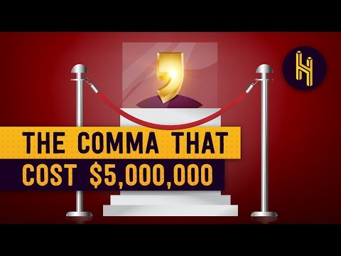 How a Missing Comma Cost a Company $5 Million