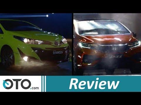 Toyota Yaris Baru vs Honda Jazz I OTO.com