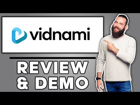 Vidnami Review 2021 - Demo Tutorial and 25% DISCOUNT