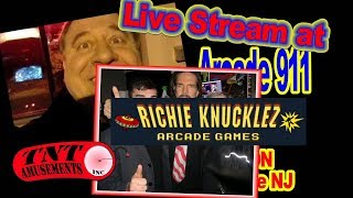 Richie Knucklez Arcade 911 Live tour!!
