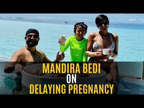 Mandira Bedi Opens On Delaying Pregnancy | SpotboyE
