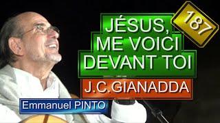 Jésus, me voici devant Toi(Jean-Claude Gianadda) - (chant liturgique) - Karaoké N°187