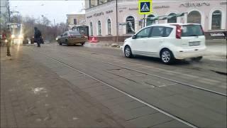 Погромыхивает новая плитка на тротуаре Большой Покровской в Нижнем Новгороде