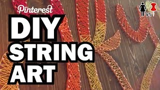 DIY String Art, Corinne VS Pin #30