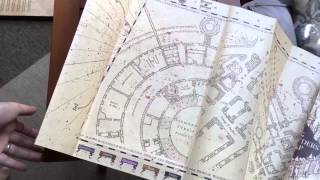 Noble Collection Marauders Map & Display Case Review Part 2 - Most ...