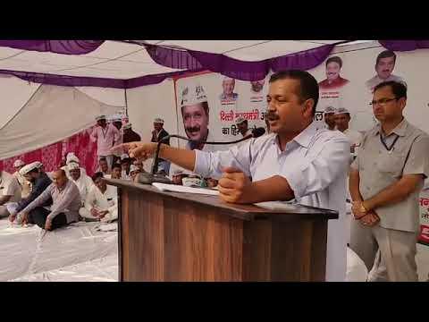 Delhi CM Arvind Kejriwal Addressed in Haryana (Chanaut) Exposing BJP Govt's Failure in Edu & Health