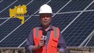 Maior parque solar do Brasil .