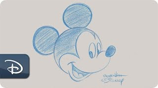 How-To Draw Mickey Mouse - Contemporary