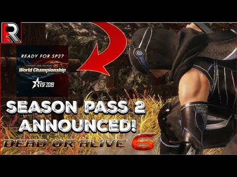 Season Pass 2 Announced! GET HYPE! (Dead Or Alive 6)