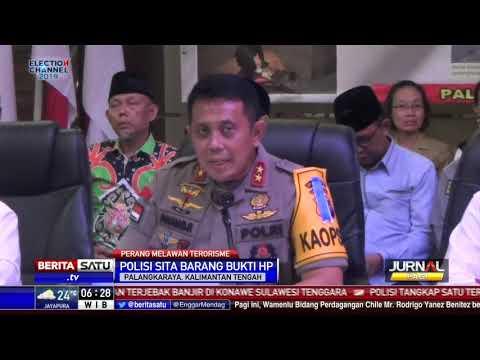 Polda Kalteng Amankan 33 Orang Terduga Teroris