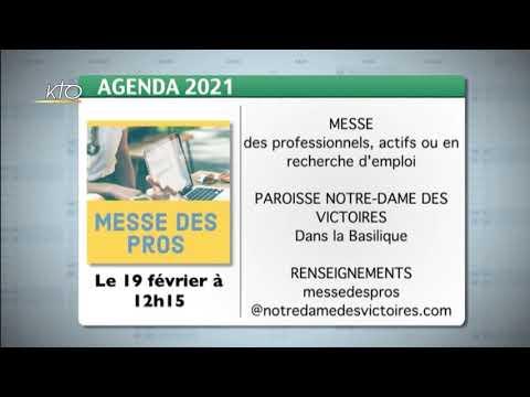 Agenda du 5 février 2021