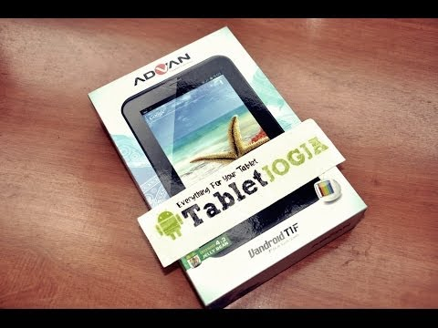 Unboxing | Review Advan Vandroid T1F Tablet 7″ Tablet PC Quad Core #TabletJogja