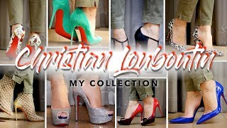 MY CHRISTIAN LOUBOUTIN HEEL COLLECTION | Sonal Maherali