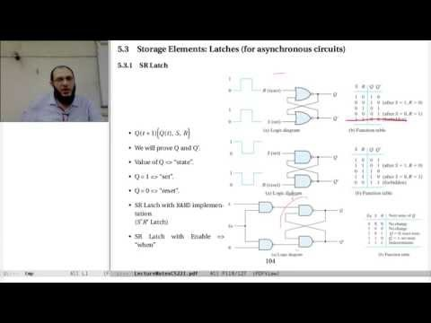 05-a Synchronous Sequential Logic: latches & flip-flops