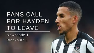 Fans call for Isaac Hayden to leave