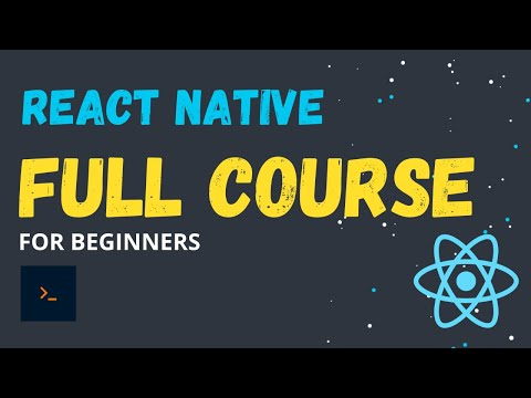 Full React Native Project Tutorial for beginners.