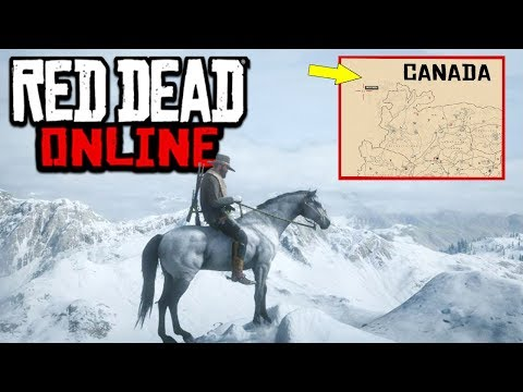 I Glitched Into Canada In Red Dead Online & It Got Terrifying [RDO]