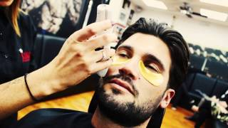 Dan Edgar from The Only Way is Essex Gets Haircut In Kings Barbers Club Solihull