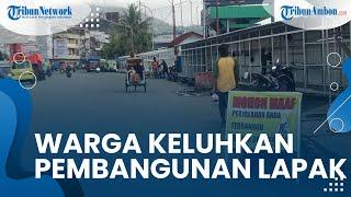 Terkait Pembangunan Lapak Pedagang di Atas Trotoar Pantai Losari Ambon, Warga Nilai Mengganggu