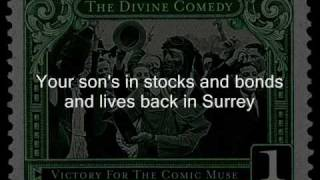 the divine comedy - a lady of a certain age & lyrics