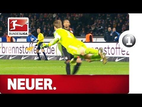 Top 10 Manuel Neuer Sweeper-Keeper Moments - Advent Calendar 2015 Number 1