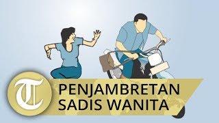 Penjambretan di Medan, Korban Terpental hingga Tak Sadarkan Diri
