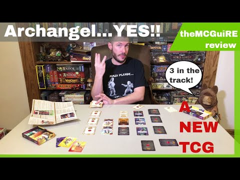 theMCGuiRE review looks at SIEGESTORM - A NEW TCG