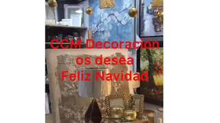 CCM Decoración os desea ¡Feliz Navidad!