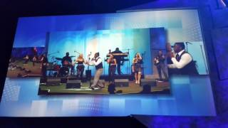 Paradigm Party Band live on Jumbotron at Orange County Convention Center!