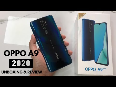 OPPO A9 2020 UNBOXING AND REVIEW