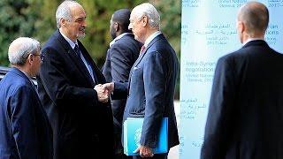 Slow progress at Geneva peace talks on Syria