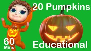 20 Pumpkins | Counting Songs | Educational