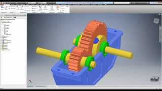Creating Power Transmission Components With Design Accelerator (Autodesk Inventor 2016)