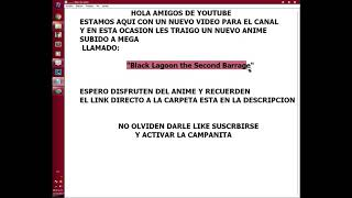 ANIMEBlackLagoontheSecondBarrageLINKDIRECTO