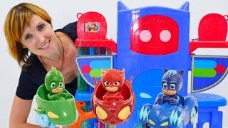 Сборник видео для детей. Герои в масках на Капуки Кануки.
