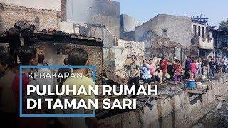 Puluhan Rumah di Dua Kelurahan Kecamatan Tamansari Hangus Terbakar