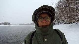 Ловля на москва реке в декабре