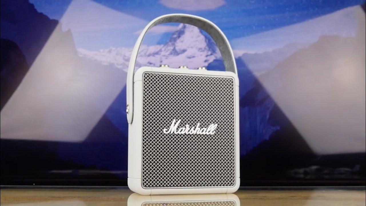 Акустика Marshall Portable Loudspeaker Stockwell II (Grey) 1001899 video preview
