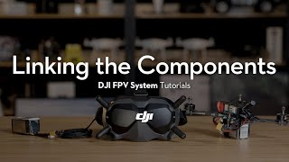 DJI FPV System | How to Link the Components