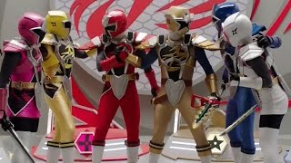 Power Rangers Ninja Steel - Ninja Steel Ultrazord's First