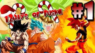 Minecraft Dragon Block C 12 Days Of Fusion | Episode 1 | A Fusion To Defeat ALL!! MUI MULTI VS BROLY