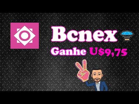 Ganhe $9.75 Dólares  no Airdrop da Exchange Bcnex.