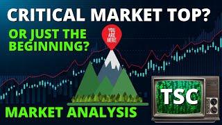 MARKET TOP? Stock Market Technical Analysis | S&P 500 TA | SPY TA | QQQ TA | DIA TA | SP500 TODAY
