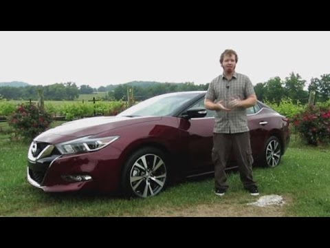 2016 Nissan Maxima First Look Video Review