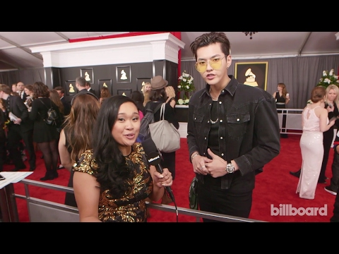 [720P] 170213 59th Grammy Awards Red Carpet Interview - Kris Wu Talks