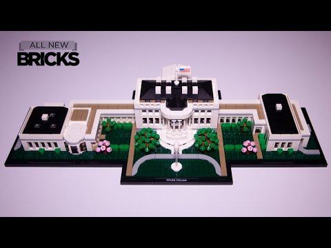 Vidéo LEGO Architecture 21054 : La Maison Blanche (Washington DC, USA)